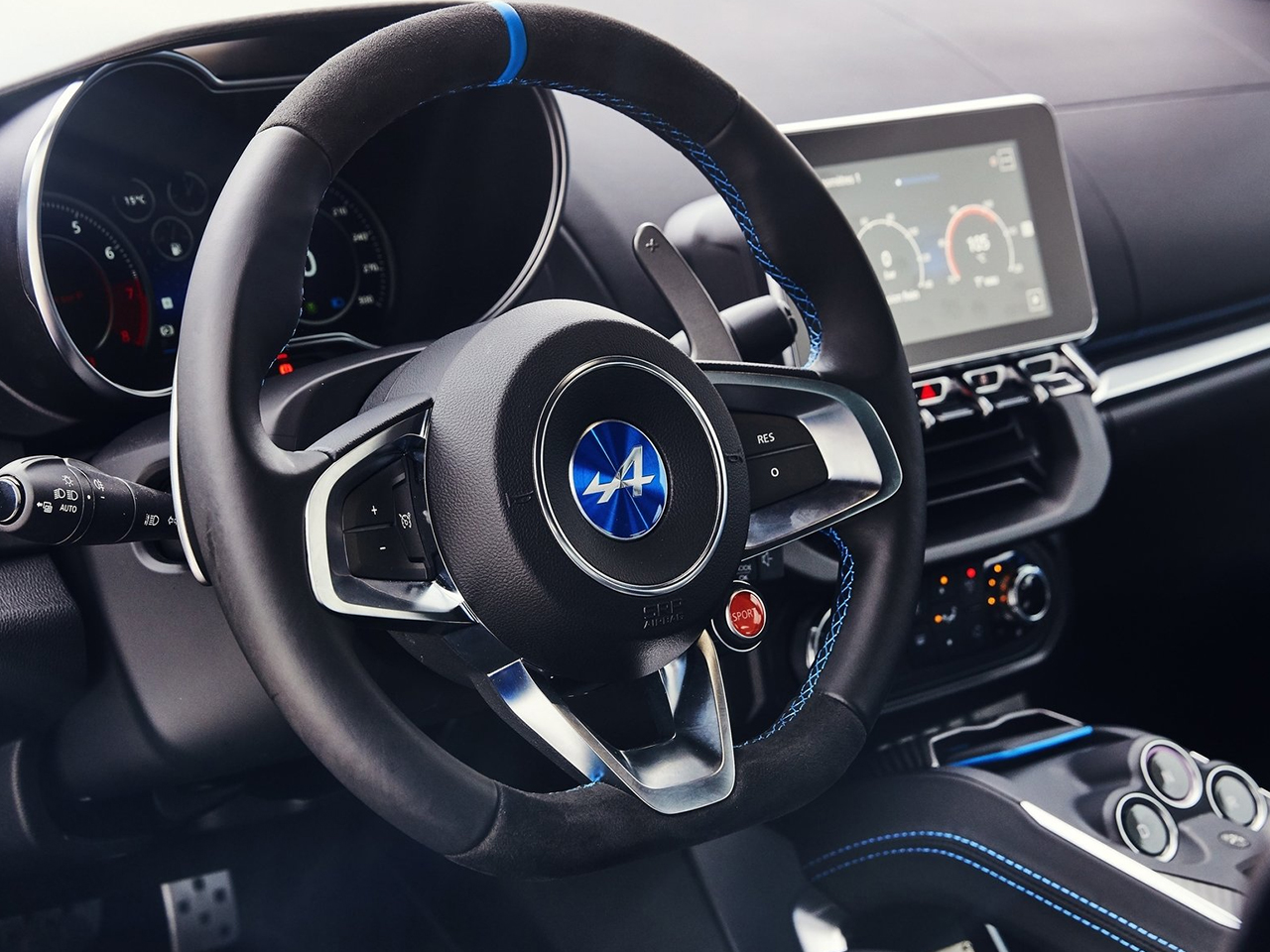 vista interior alpine a110