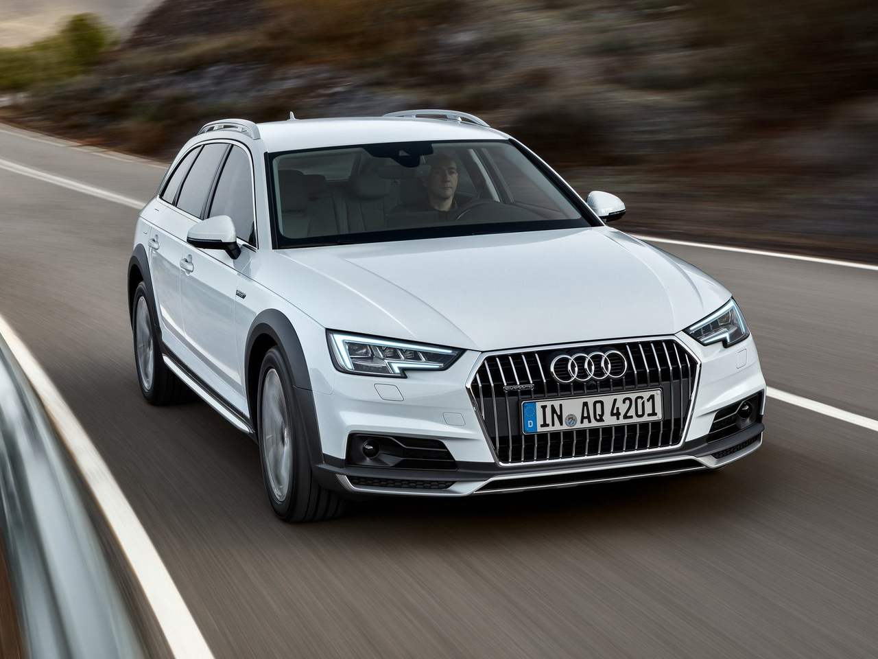 Frontal Audi A4 Allroad