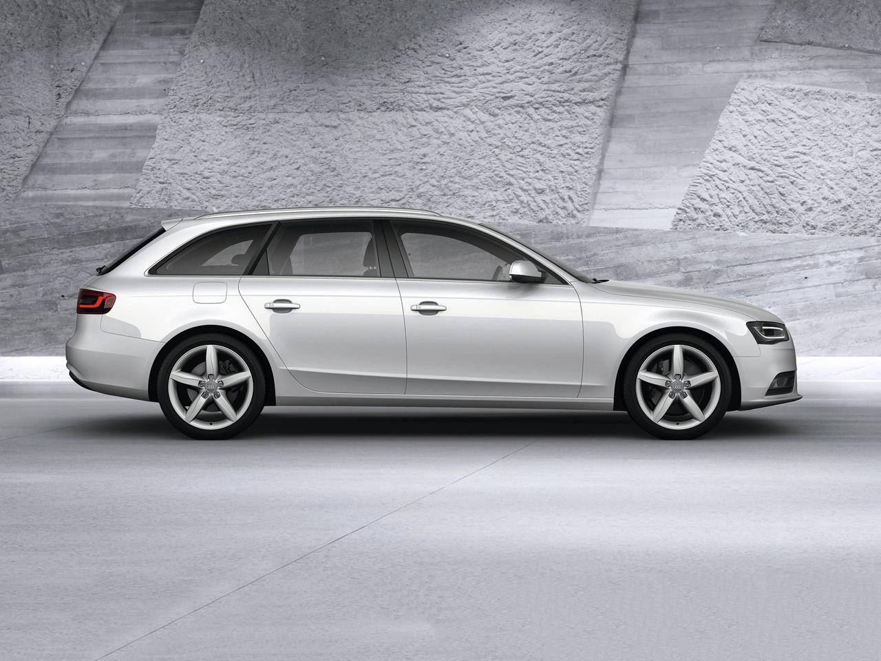 Lateral Audi A4 Avant