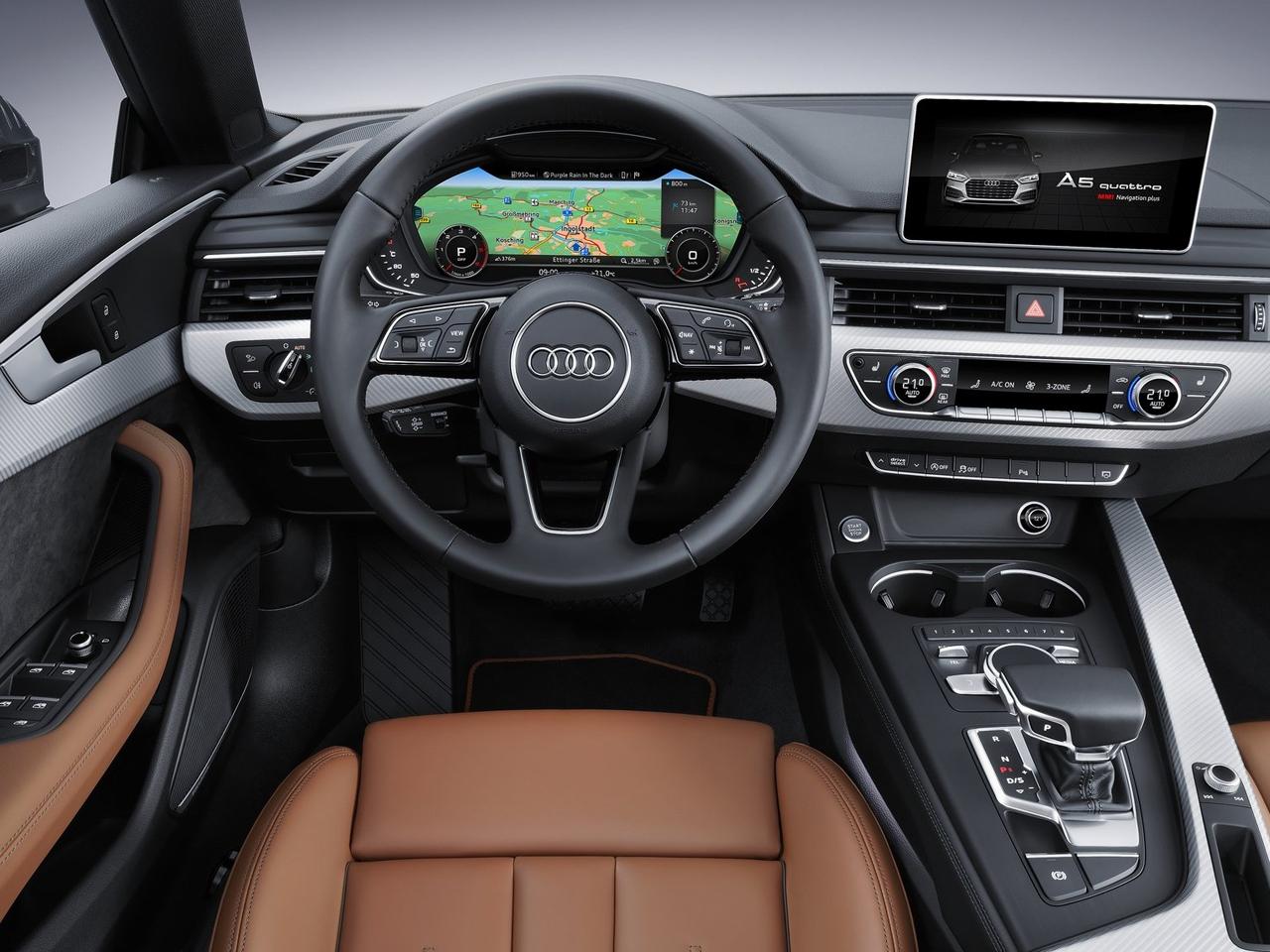 Interior Audi A5 Sportback