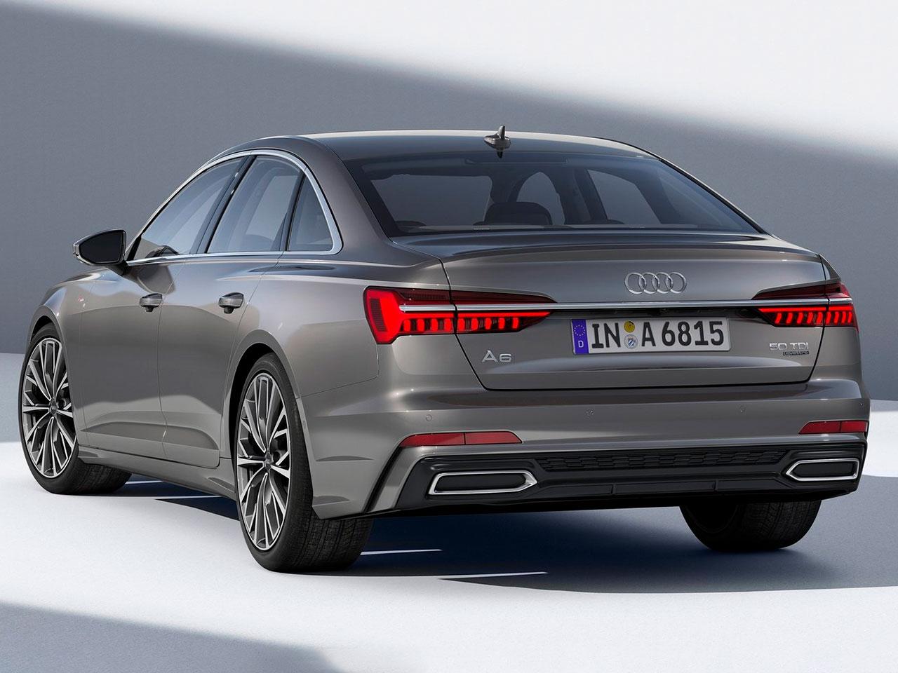 Trasera Audi A6