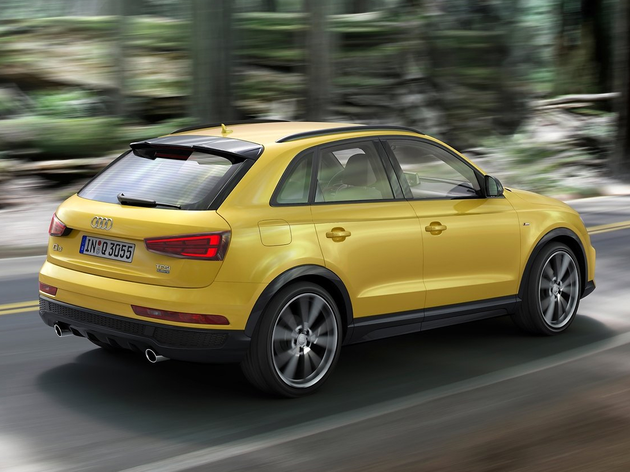 Lateral Audi Q3