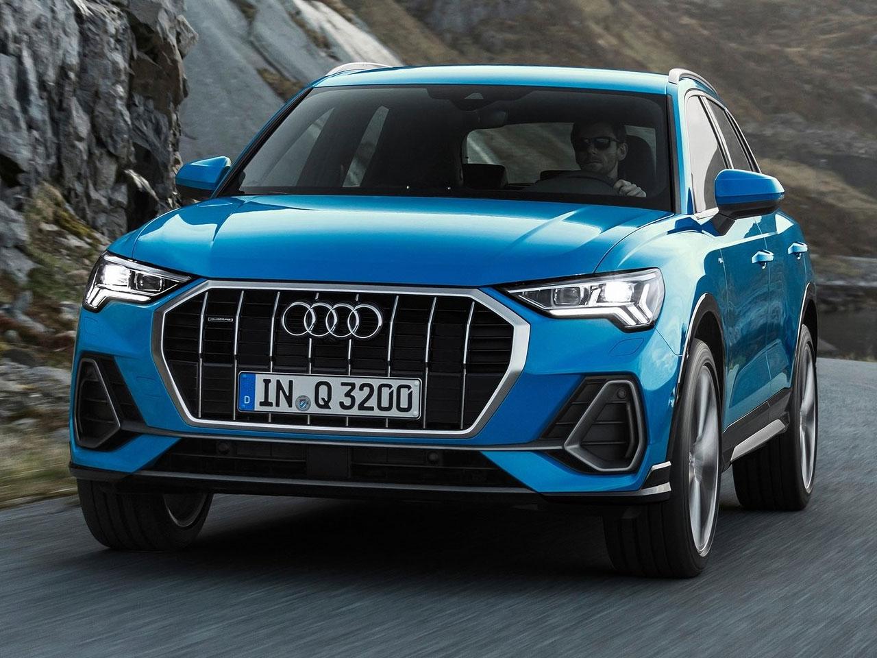 Frontal Audi Q3