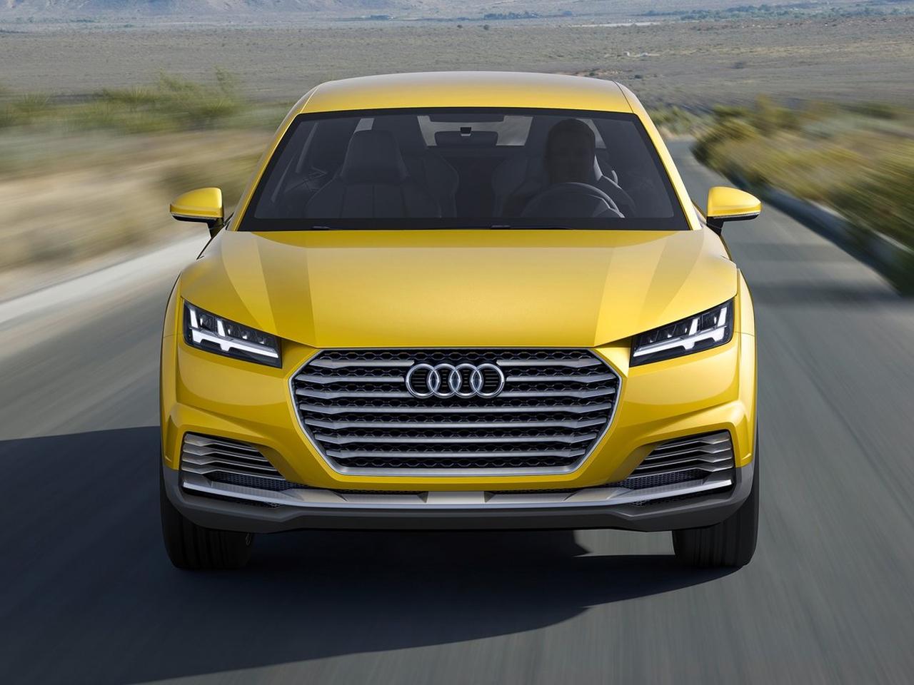 Audi Q4 frontal