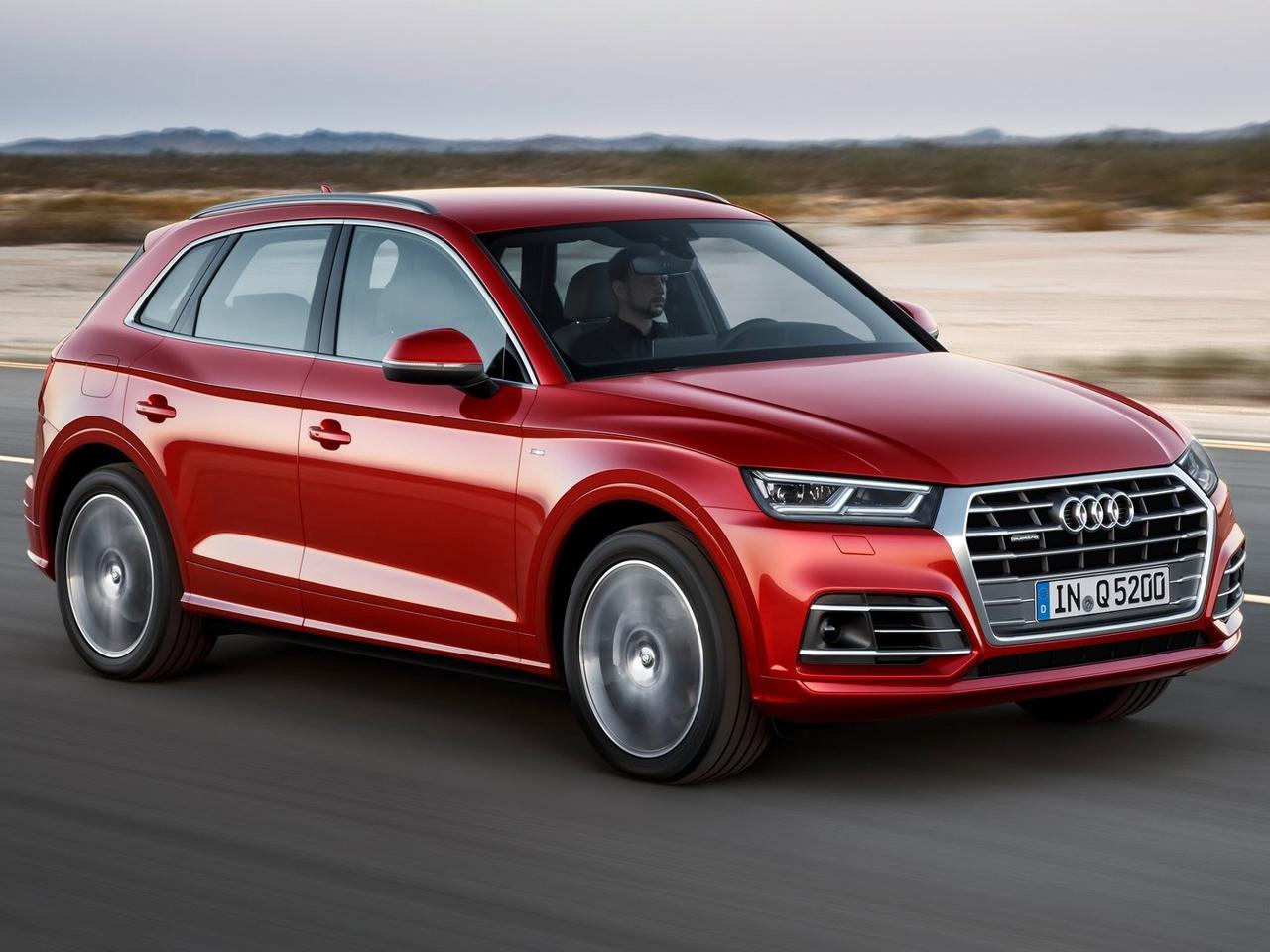 Frontal Audi Q5