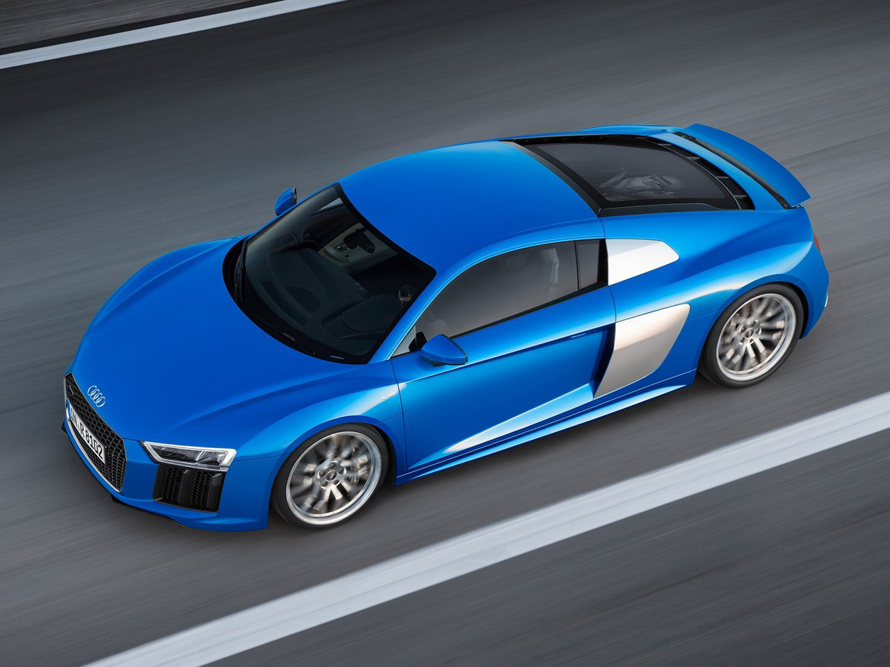Lateral Audi R8