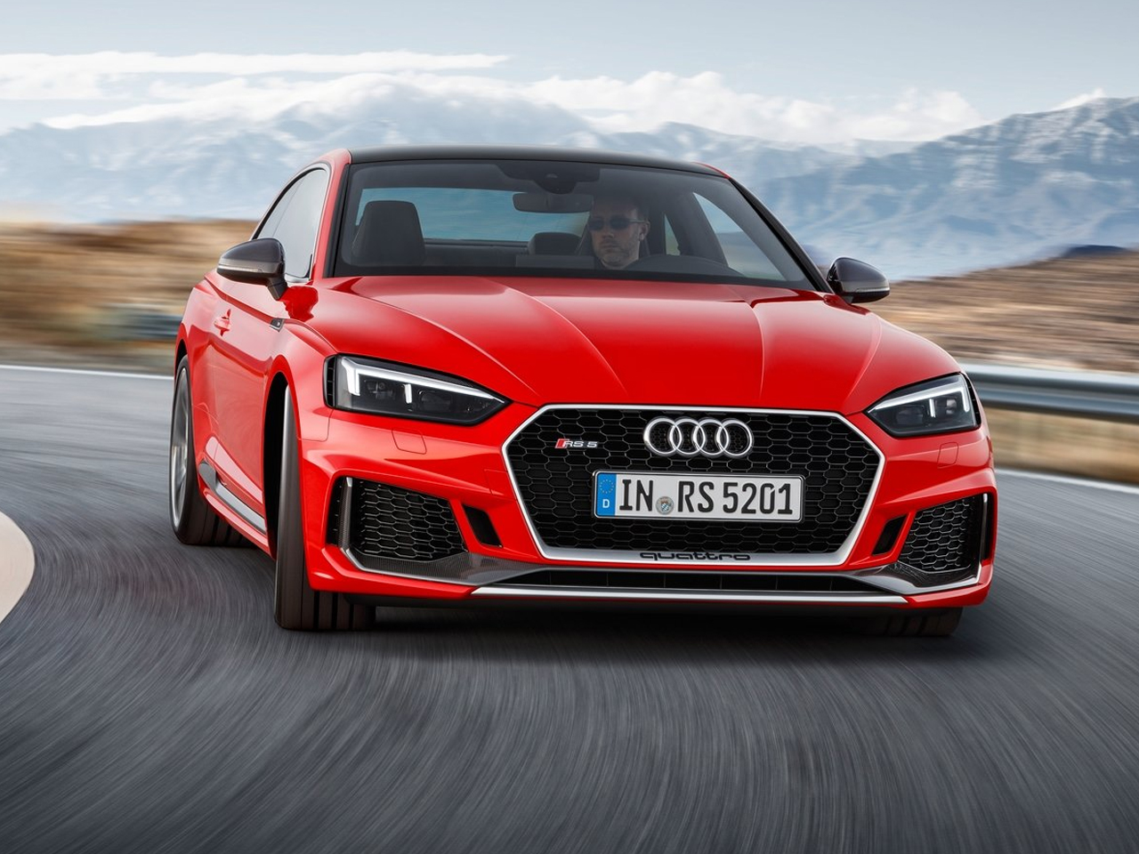 Frontal Audi RS5 Coupé