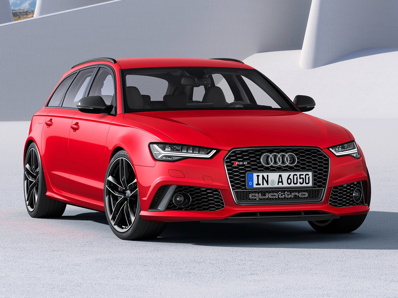 Frontal Audi RS6
