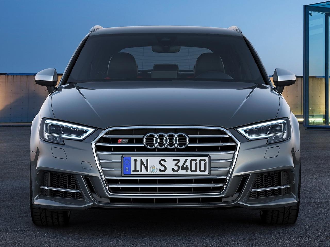 Frontal Audi S3 Sportback