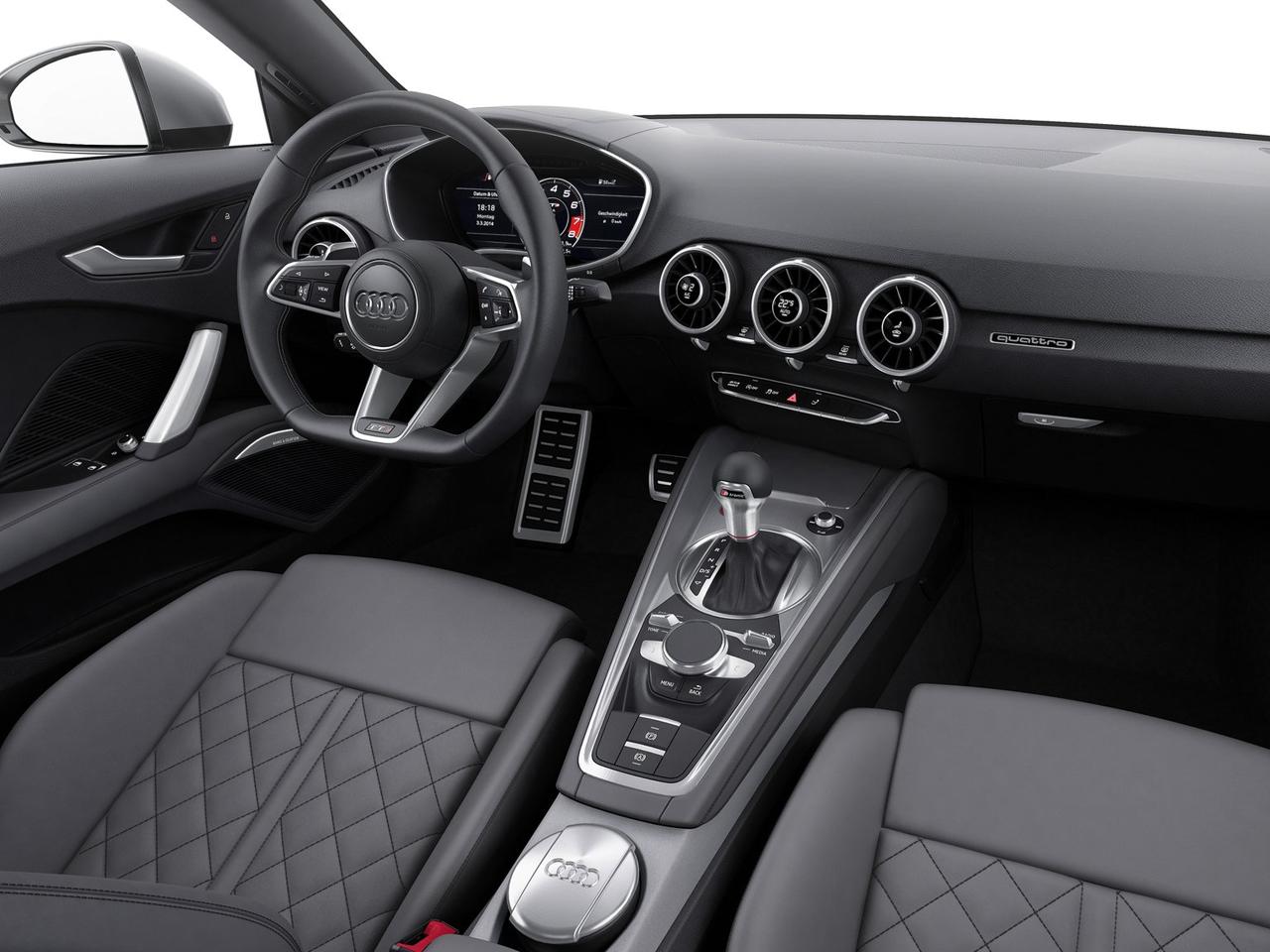 Audi TTS coupé interior