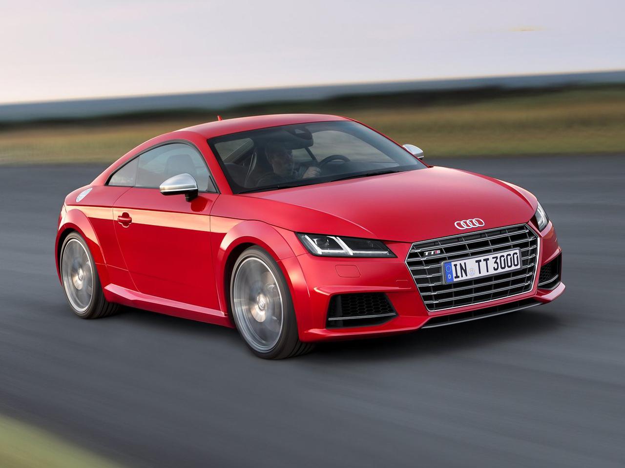 Frontal Audi TTS