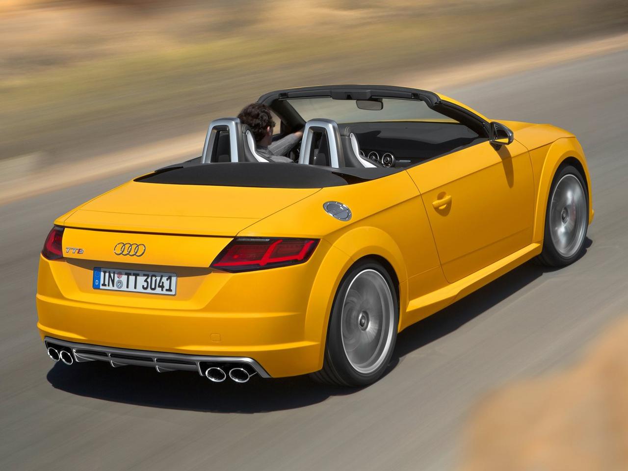 Trasera Audi TTS Roadster