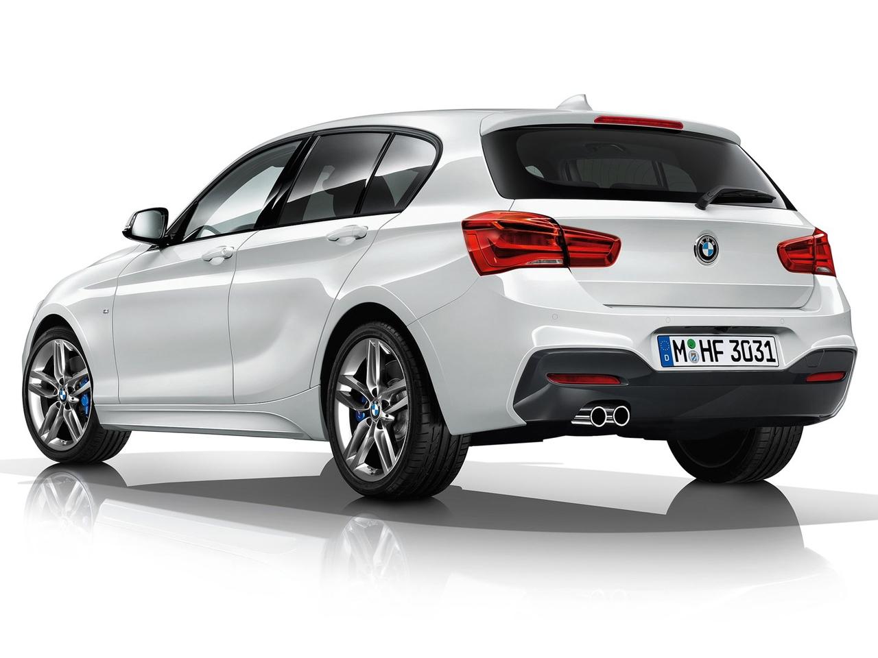 Trasera BMW Serie 1 Hatchback