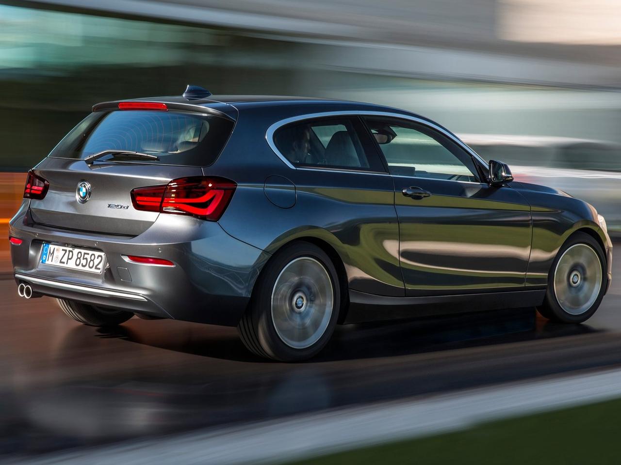 Lateral BMW Serie 1 Sporthatch