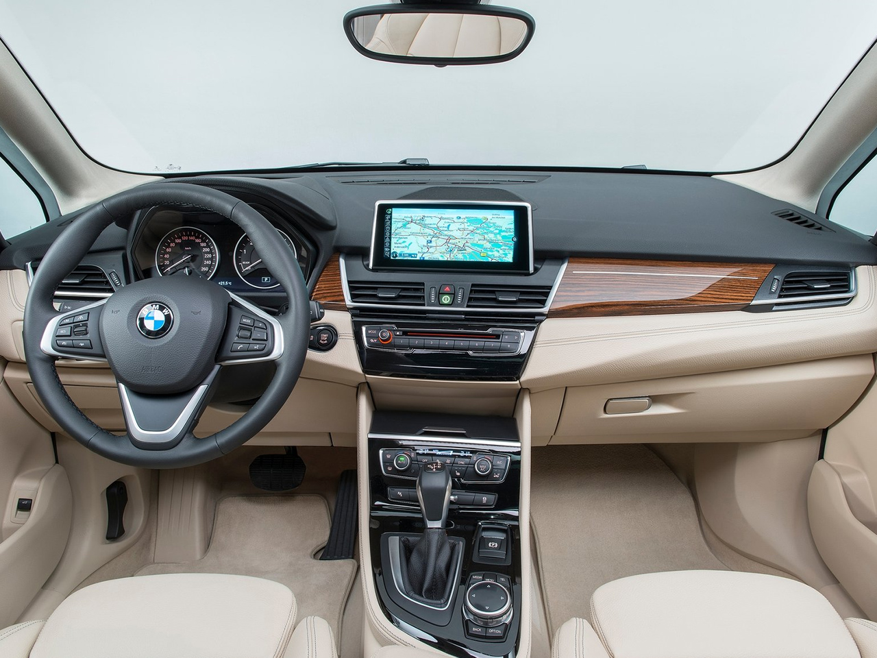 Interior BMW Serie 2 Active Tourer