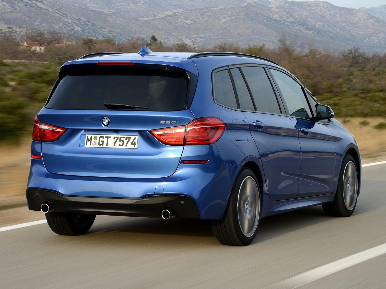 Trasera BMW Serie 2 Gran Tourer