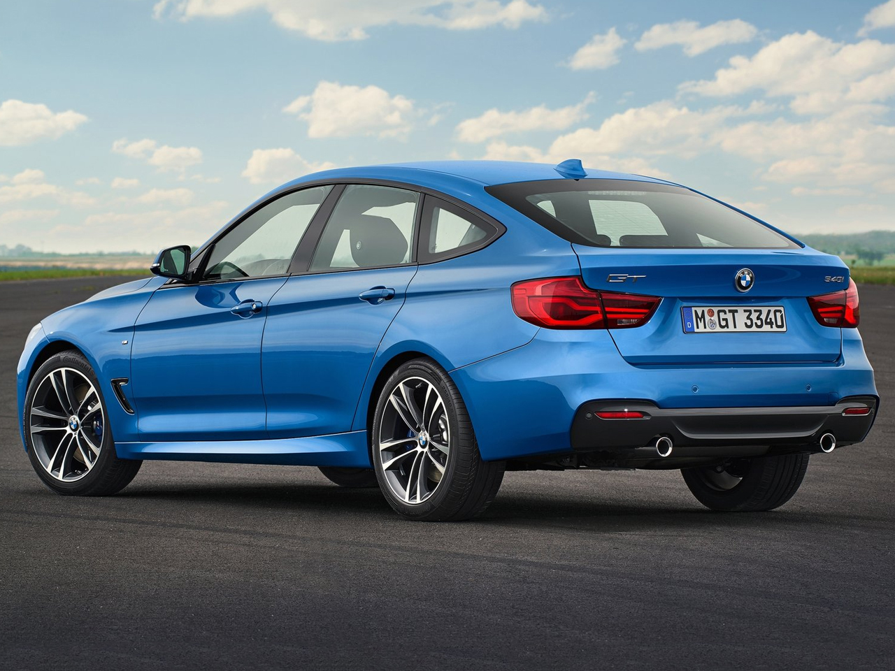 Trasera BMW Serie 3 Gran Turismo