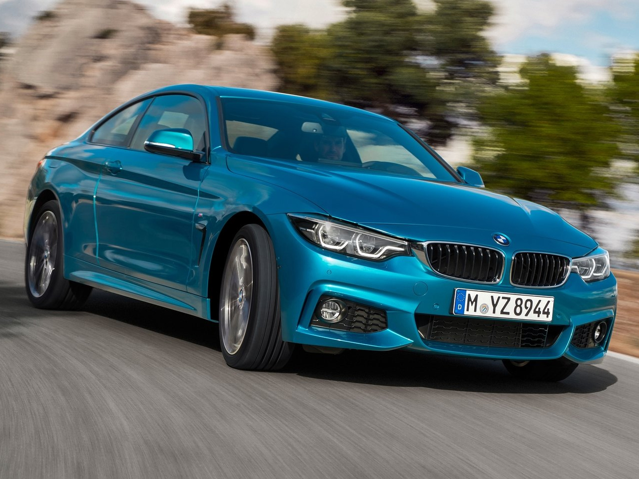 Frontal BMW Serie 4 Coupe