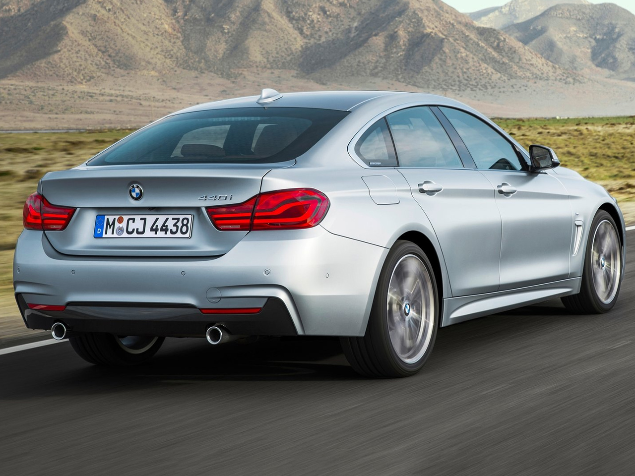Trasera BMW Serie 4 Gran Coupe