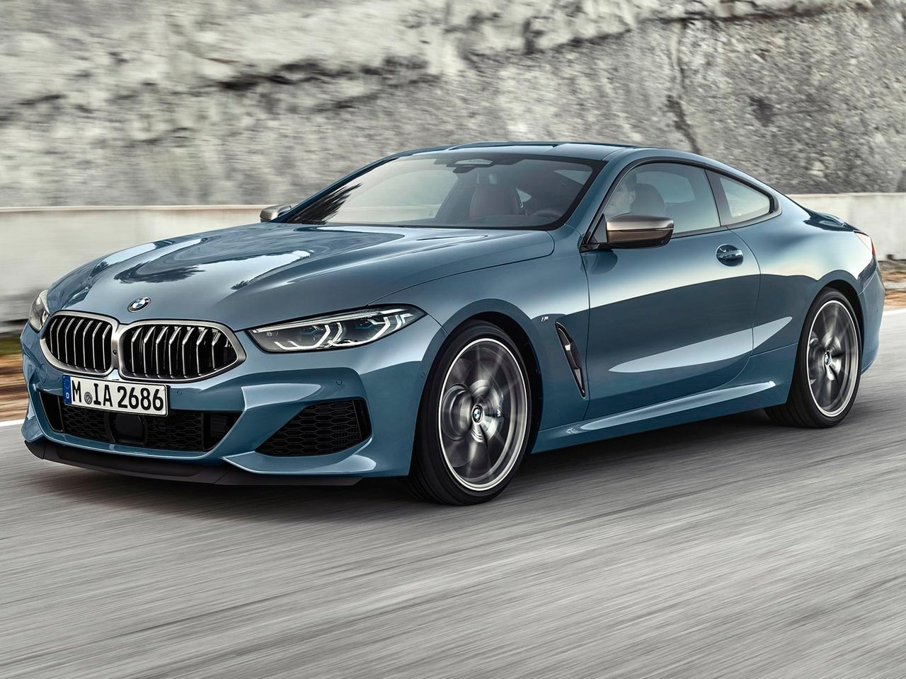 BMW Serie 8 frontal