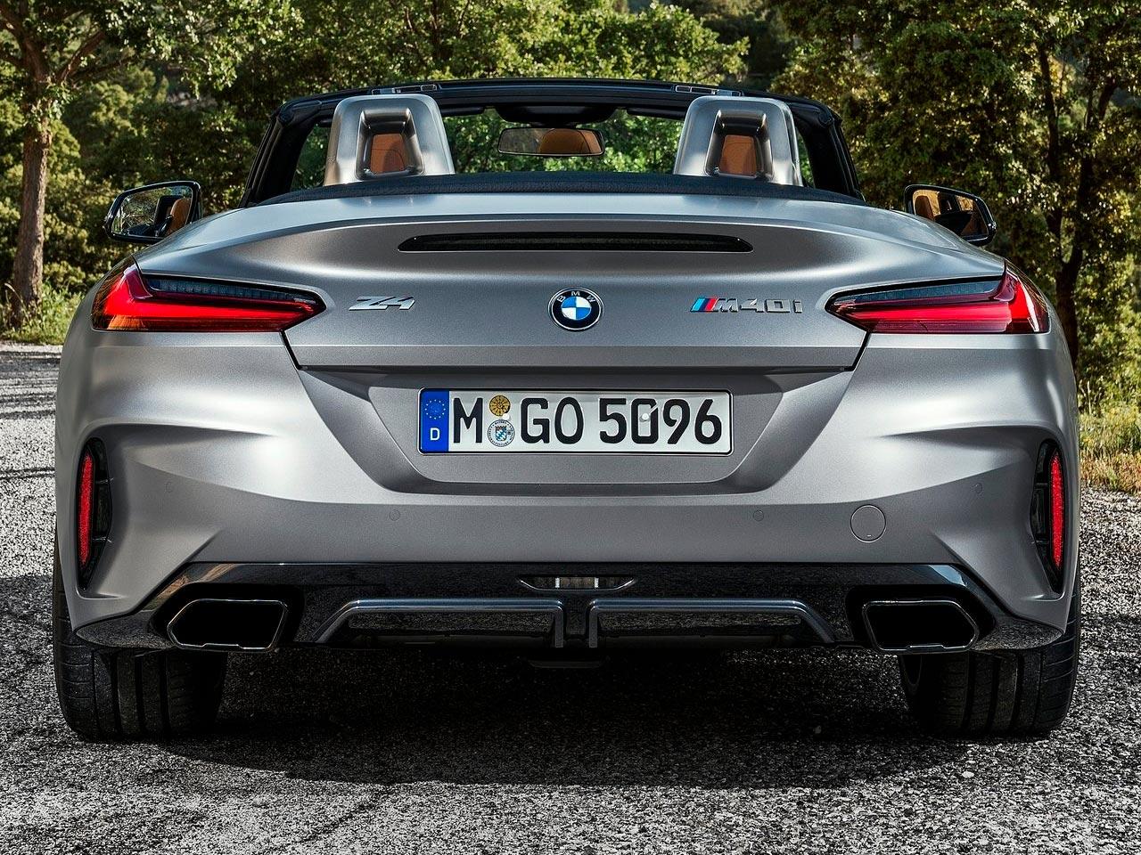 Trasera BMW Z4