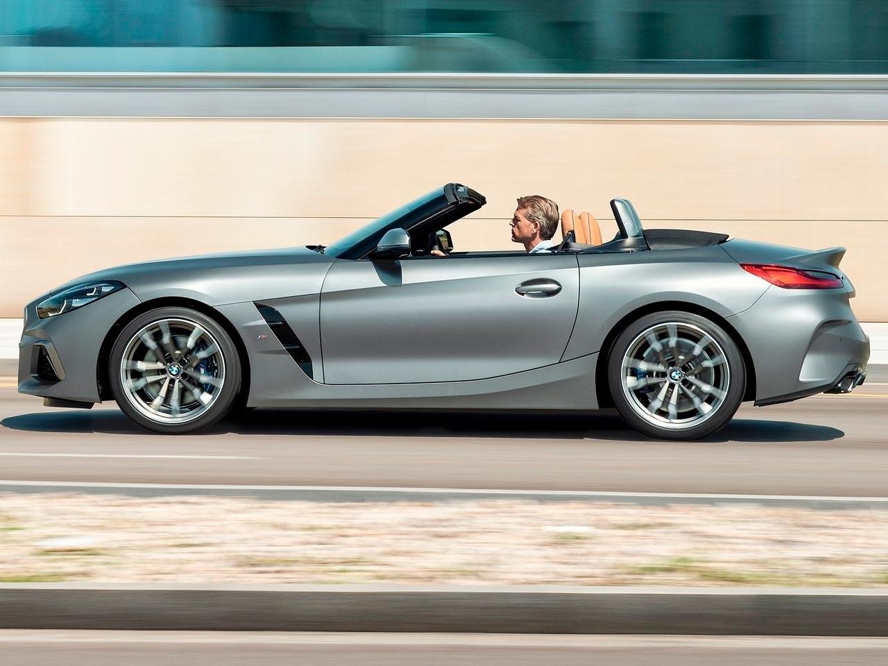 Lateral BMW Z4