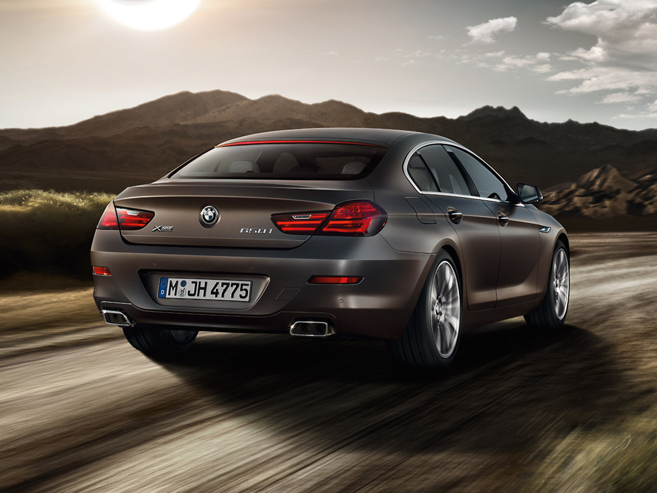 Trasera BMW Serie 6 Gran Coupe