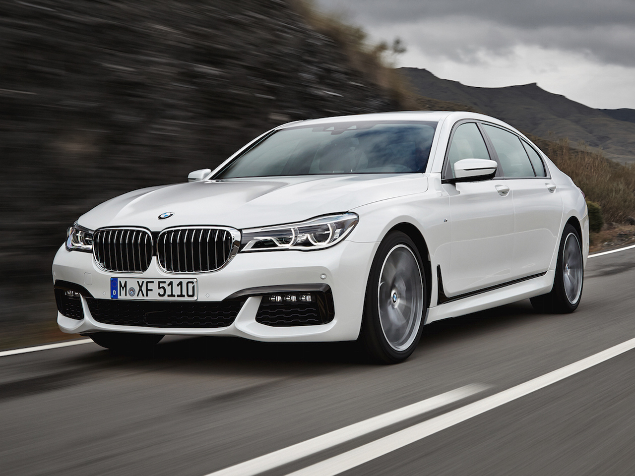 Frontal BMW Serie 7