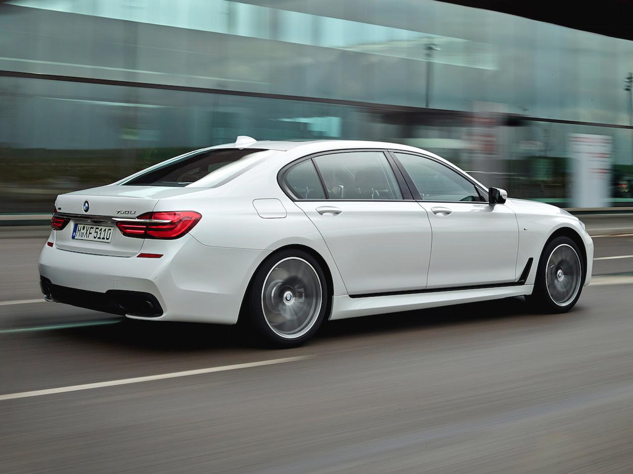 Trasera BMW Serie 7