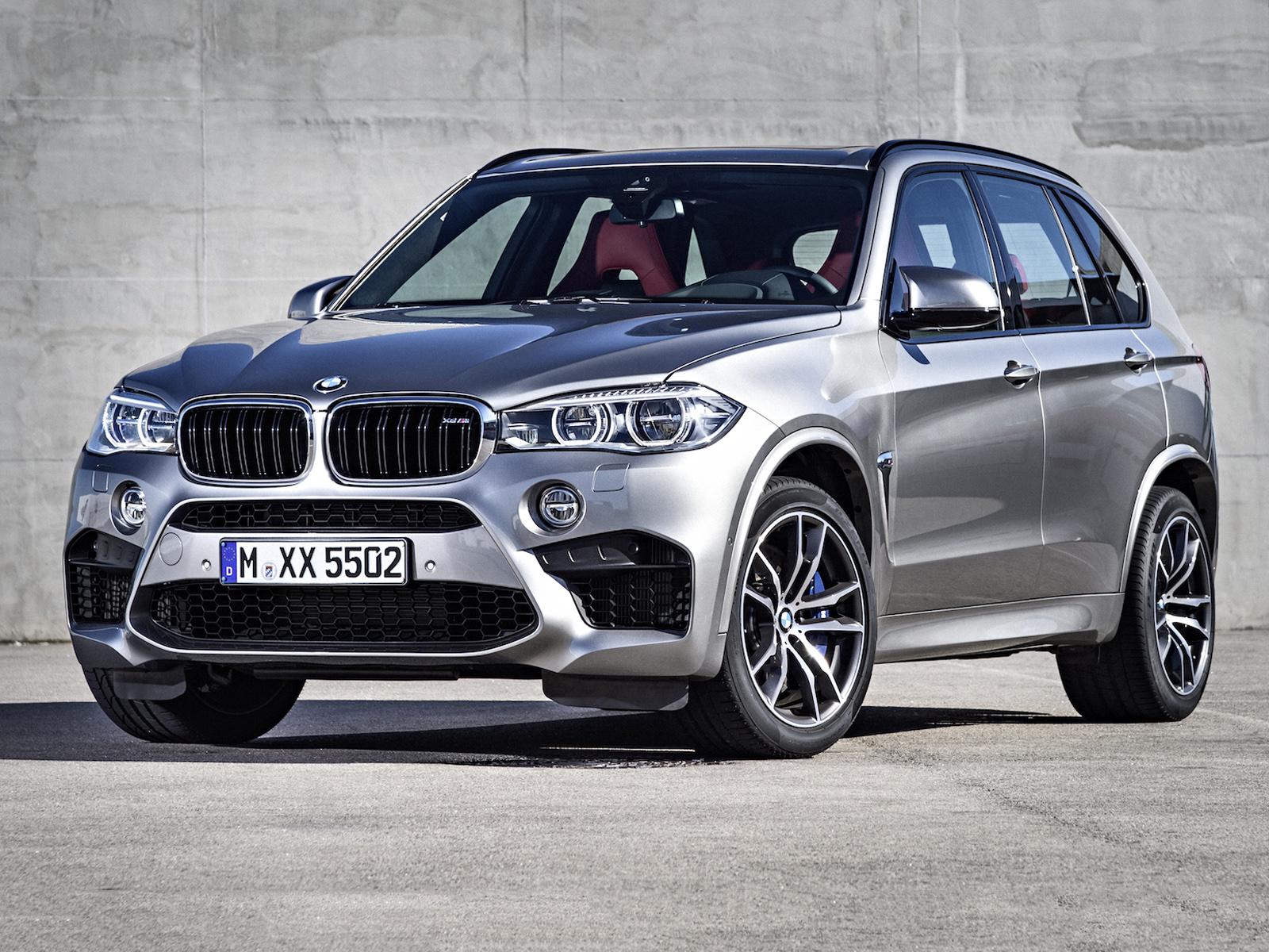 Frontal BMW X5 M