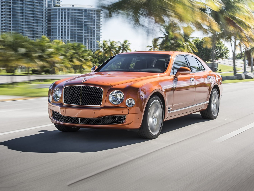 Bentley Mulsanne exterior