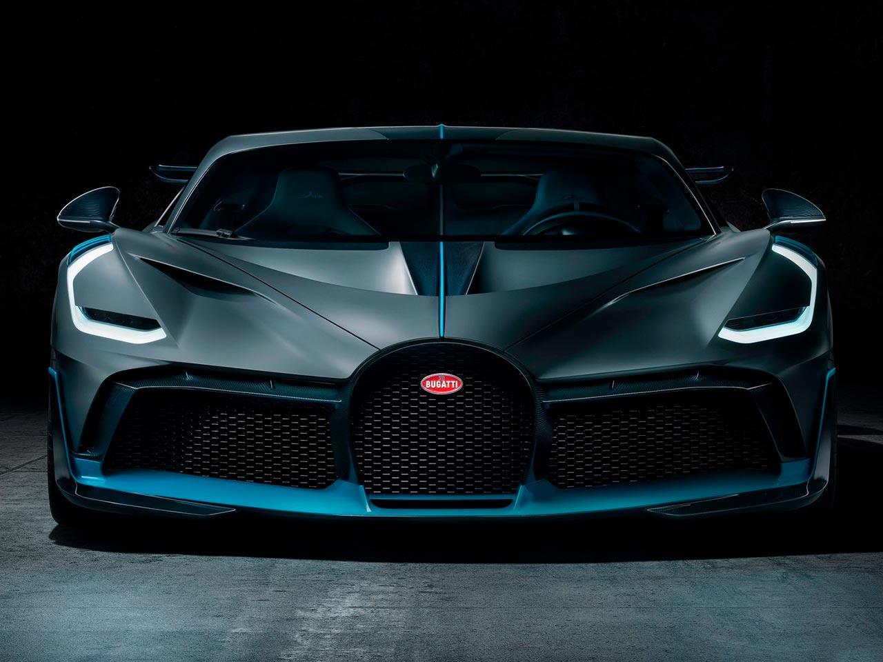 Frontal Bugatti Divo