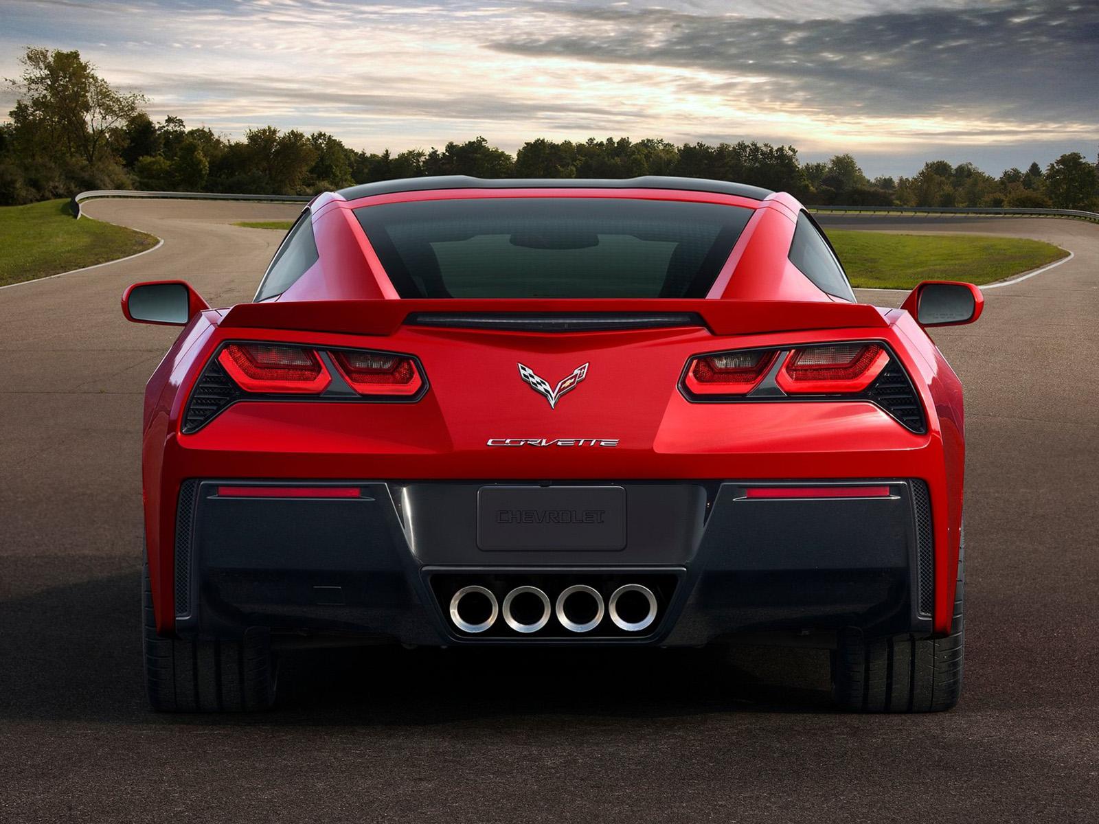 Trasera Chevrolet Corvette Stingray