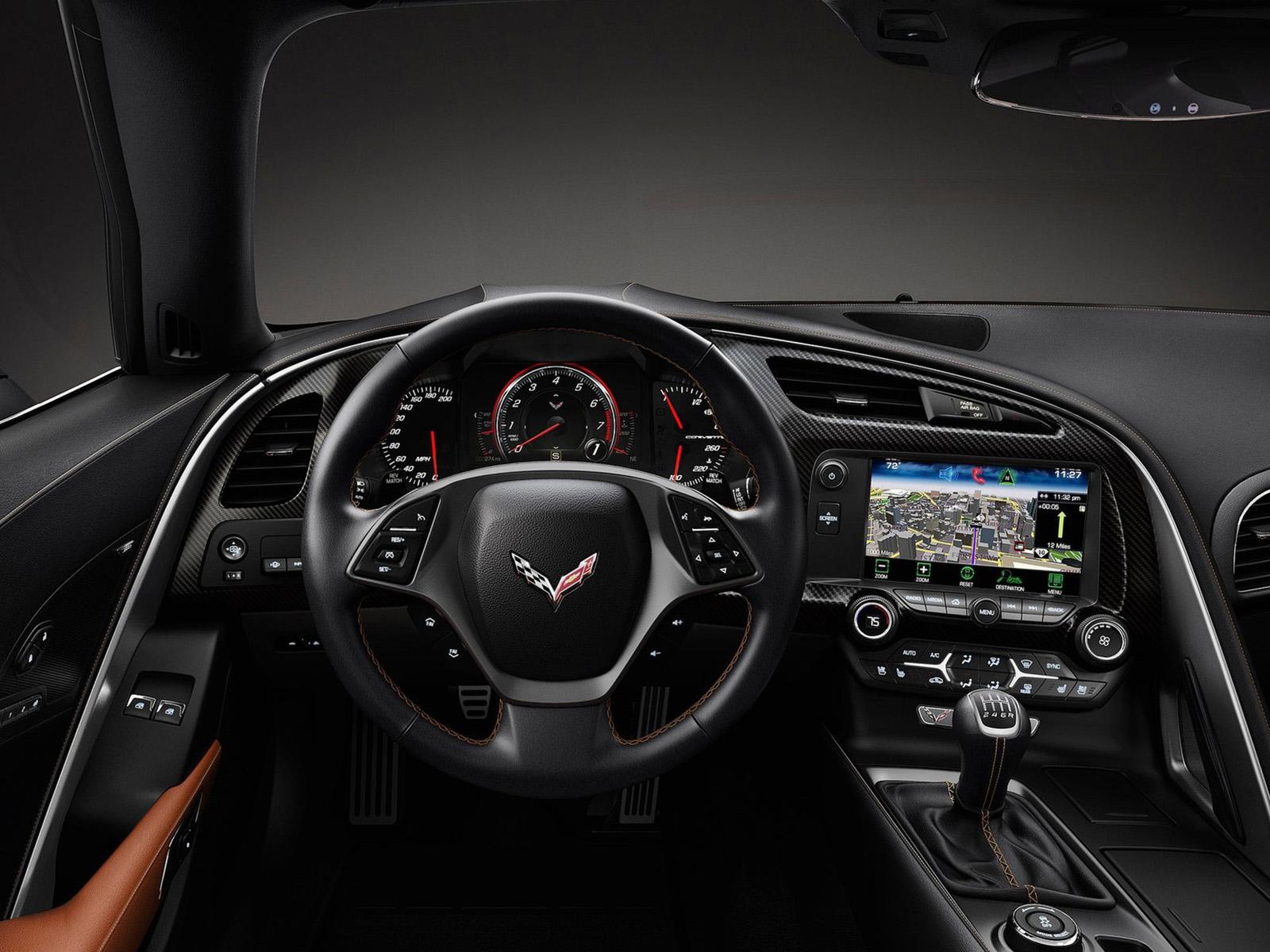 Interior Chevrolet Corvette Stingray