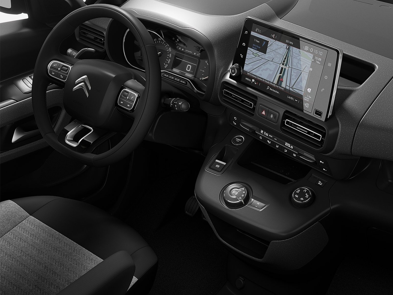 Interior Citroen Berlingo