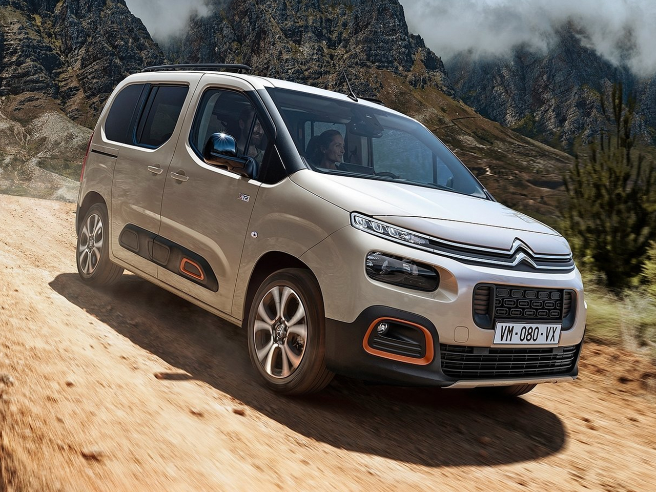 Frontal Citroen Berlingo