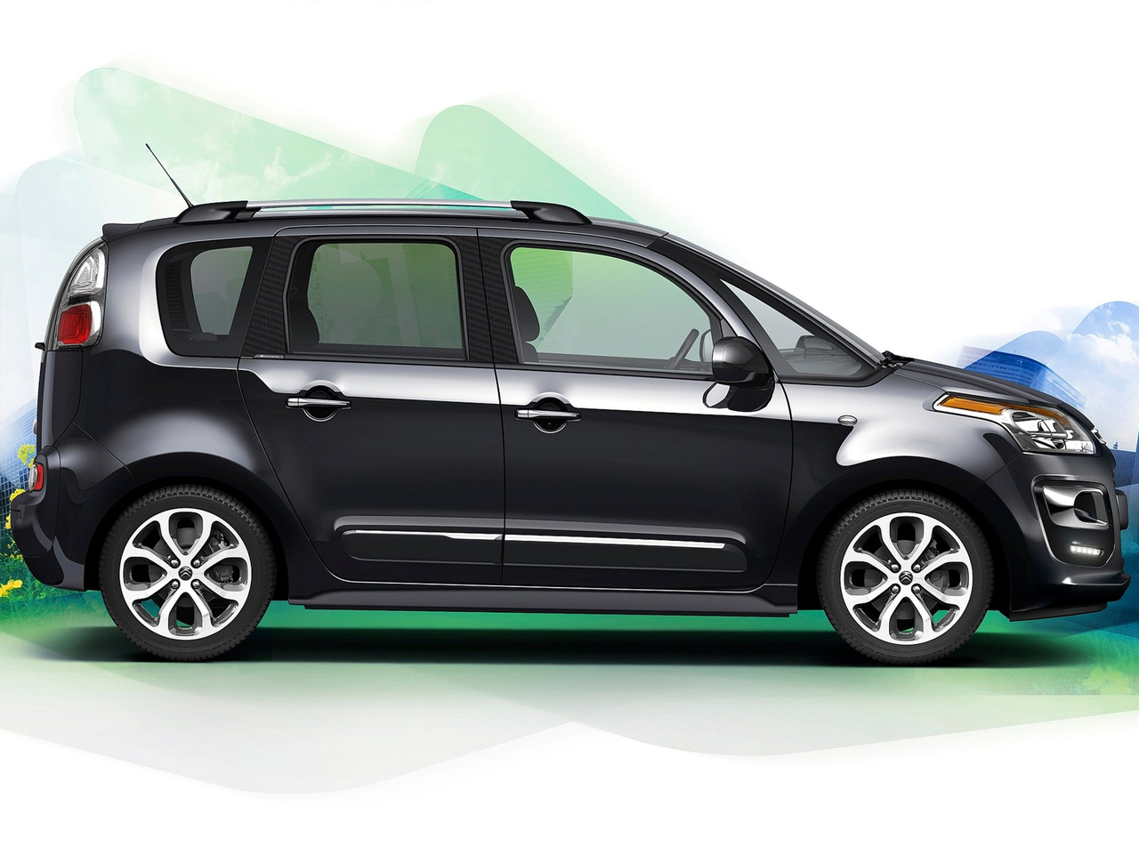 Lateral Citroen C3 Picasso