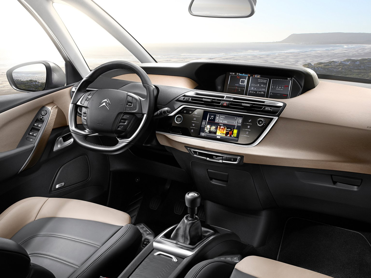 Interior Citroën C4 Spacetourer