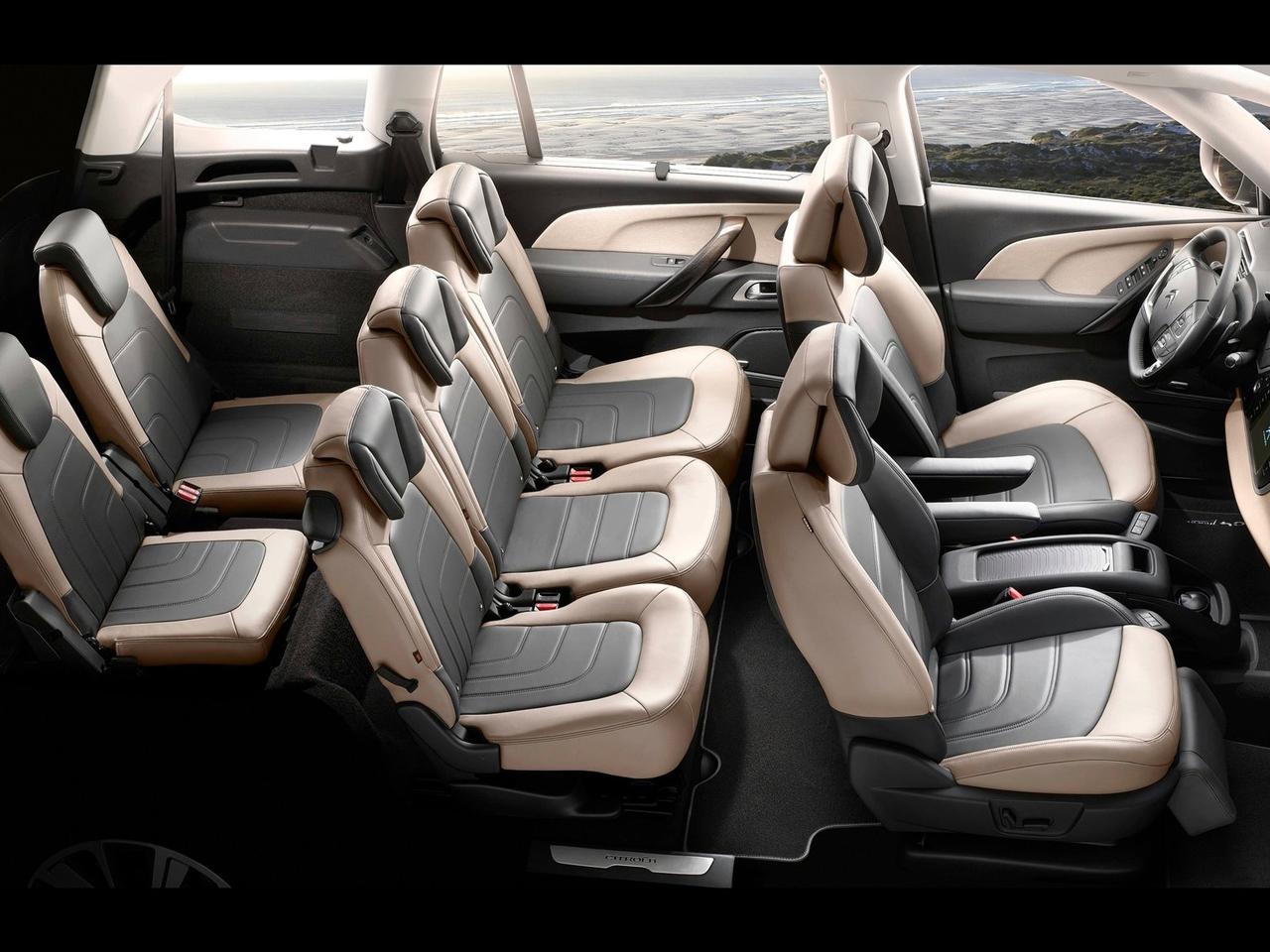 Interior Citroën C4 Grand Picasso