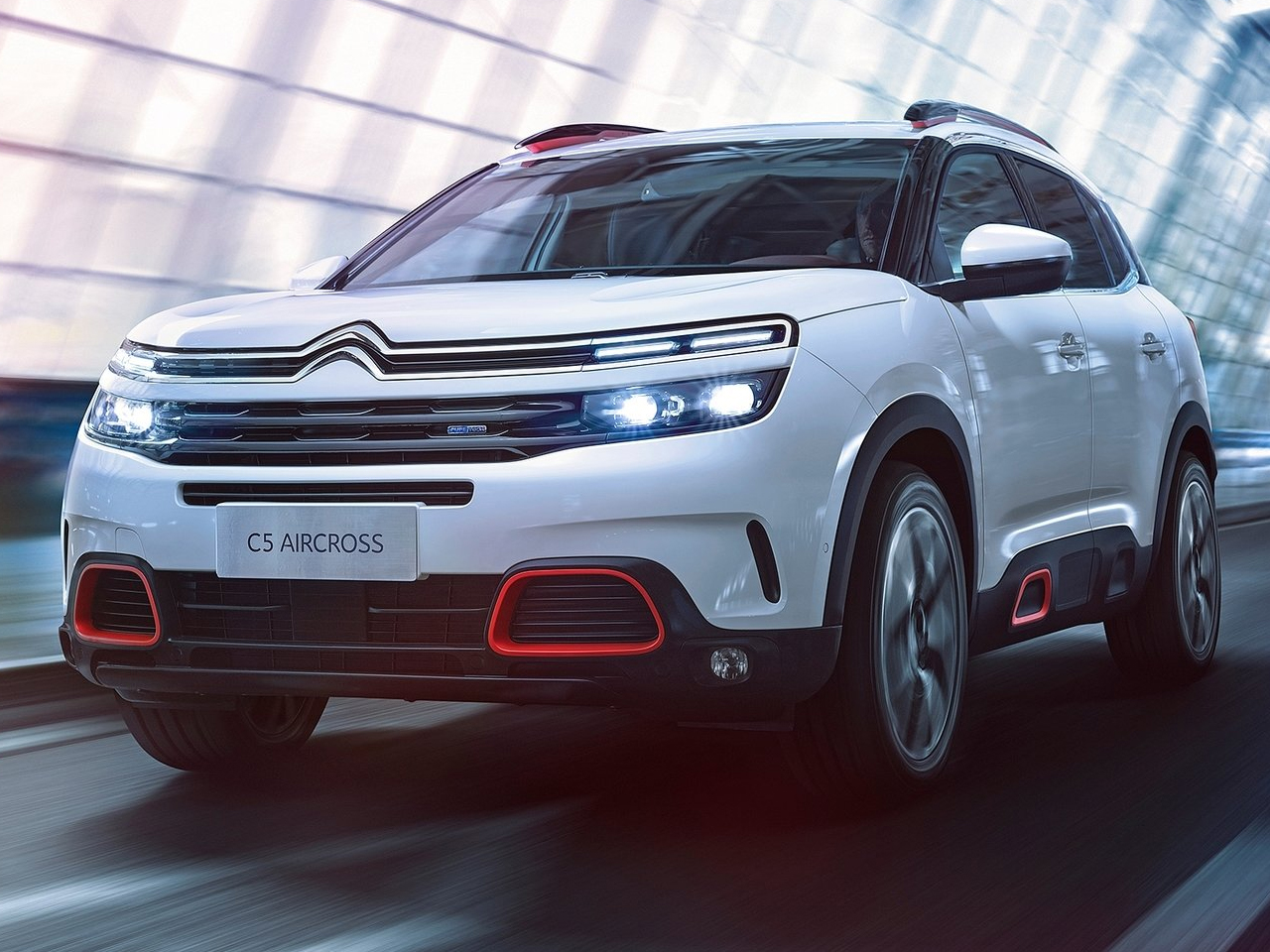 Frontal Citroën C5 Aircross