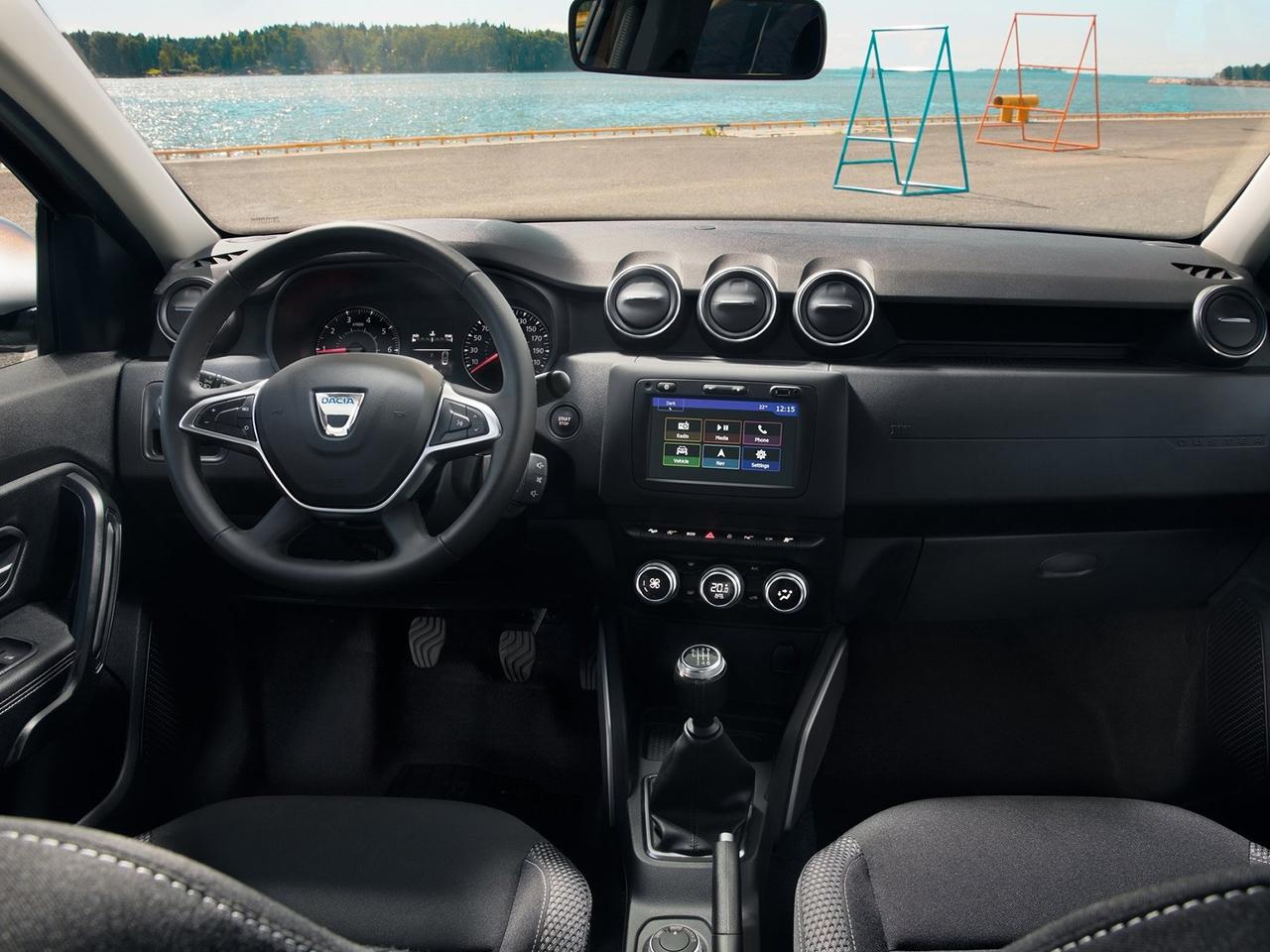 Dacia Duster 2019 visto desde el interior