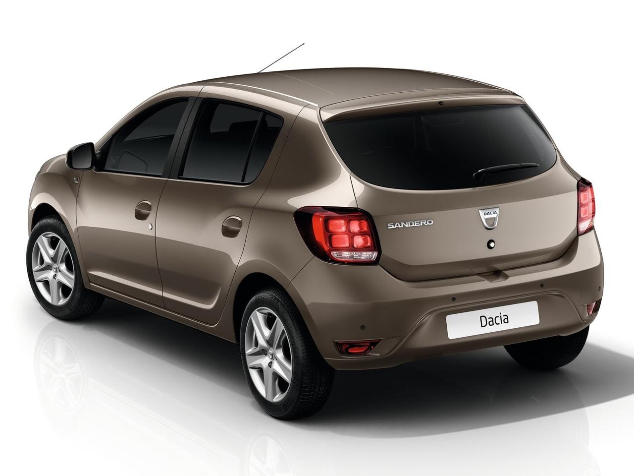 Trasera Dacia Sandero