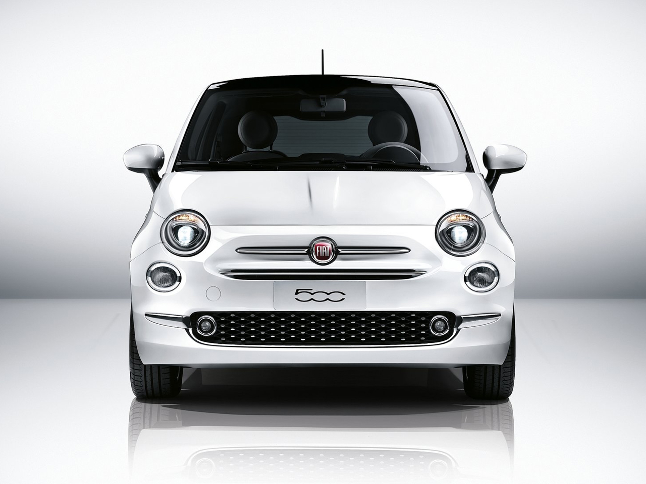 Frontal Fiat 500
