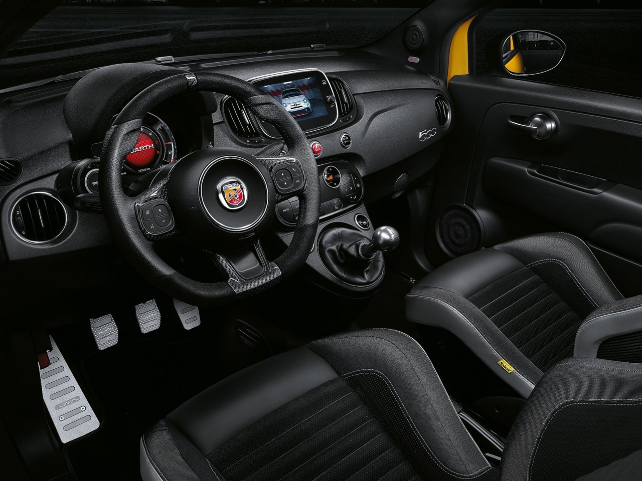 Interior Abarth 595