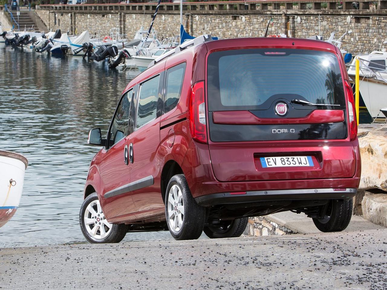 Trasera Fiat Doblo