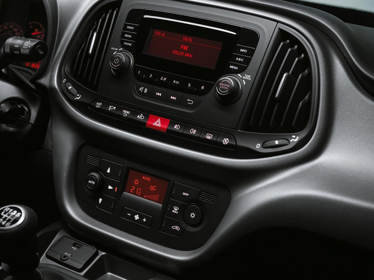 Interior Fiat Doblo