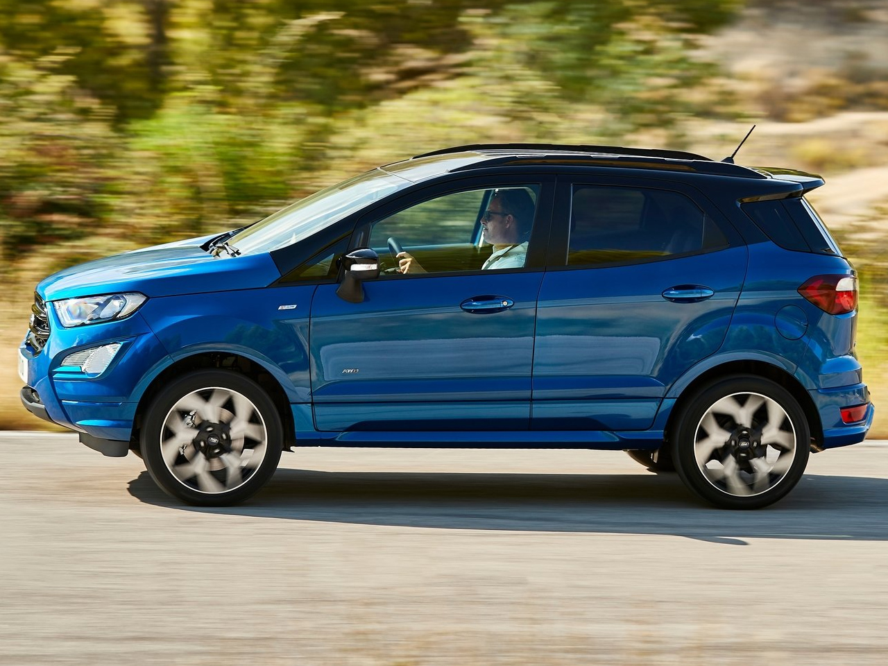 Lateral Ford EcoSport