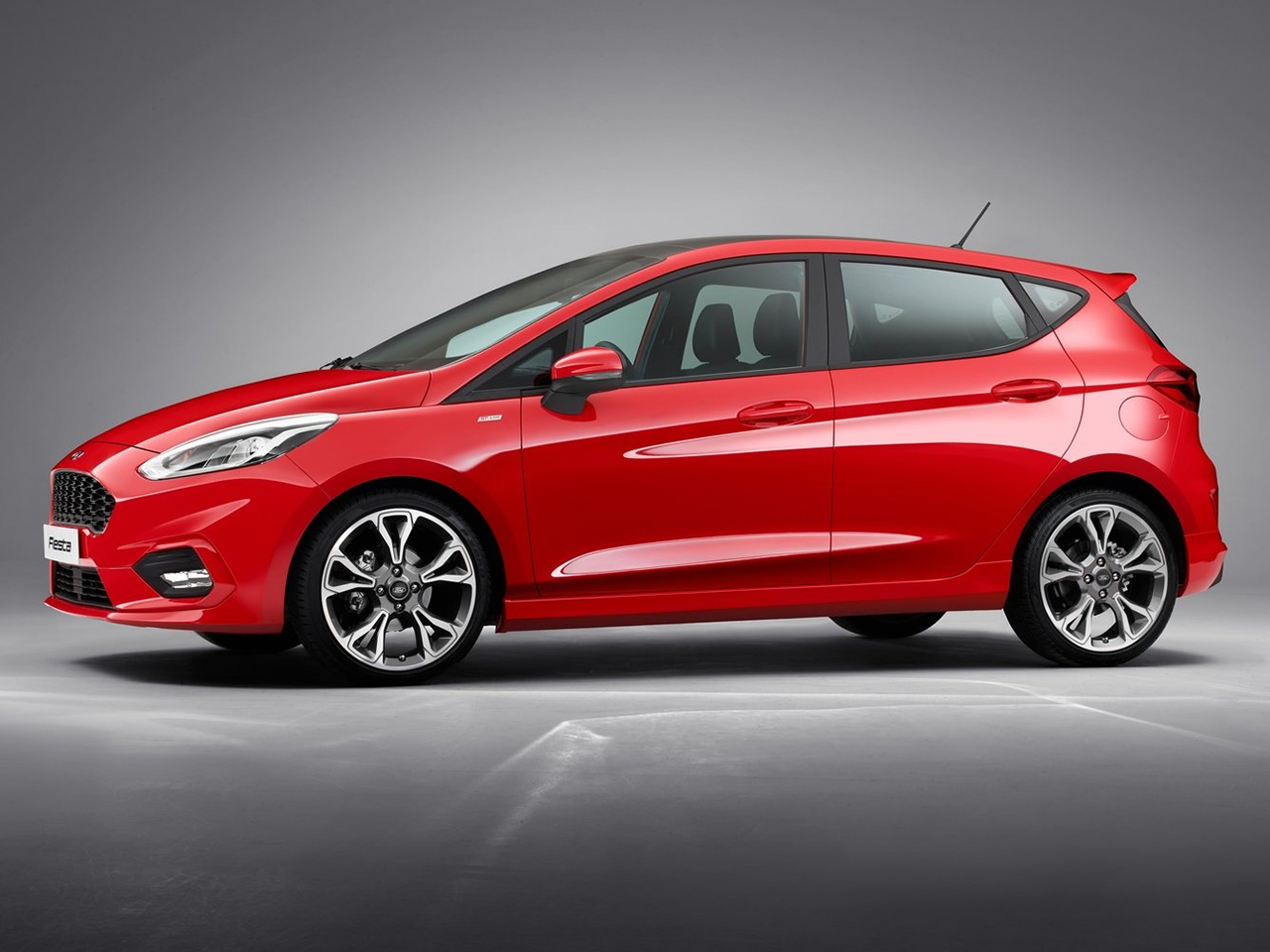 Lateral Ford Fiesta