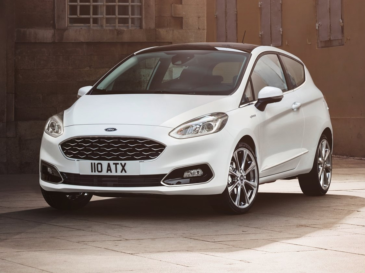 Frontal Ford Fiesta Vignale