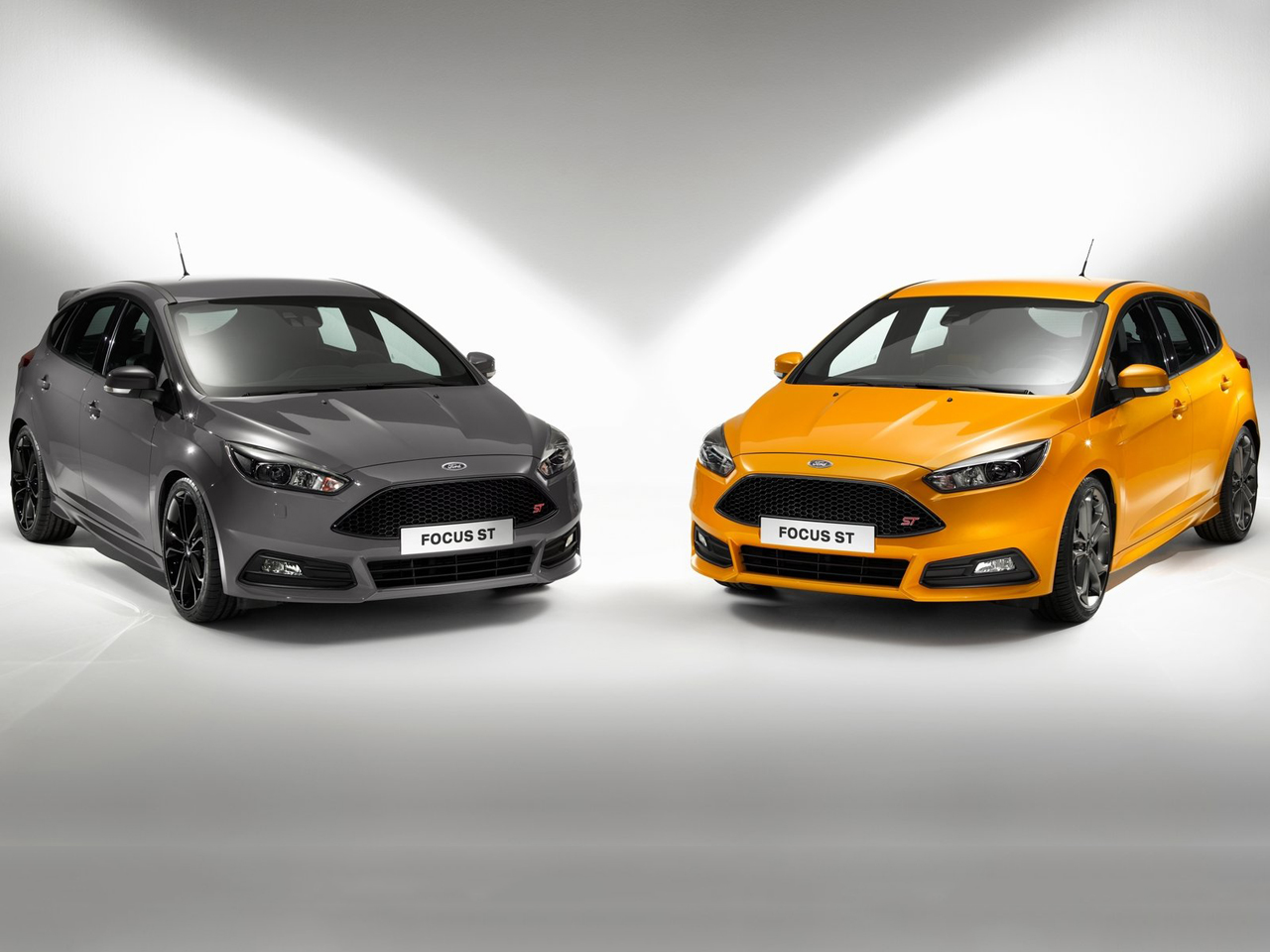 vista frontal ford focus st